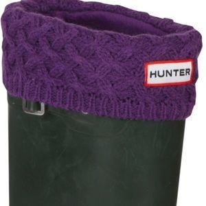 Hunter 👢 Fleece Welly Socks for Boots